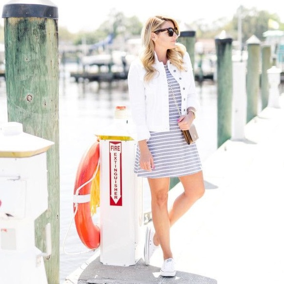 Sail to Sable Dresses & Skirts - Sail To Sable Jetting To Jetties Striped Sun Dress